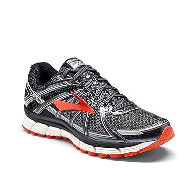 2bfca97c0ea Brooks Men s Adrenaline GTS 17 Black Anthracite Red Orange Athletic Shoe   Buy Online at Low Prices in India - Amazon.in