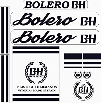 Kit de adhesivos motos clasicas BH Bolero - Juego Pegatinas ...