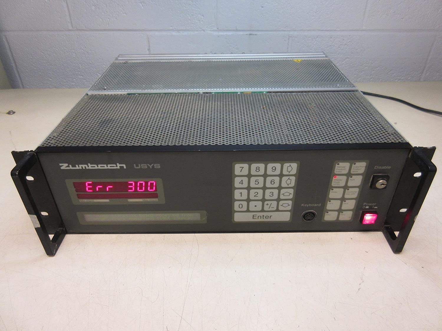 Zumbach USYS 100 Measuring Equipment Control for ODAC 35XYU