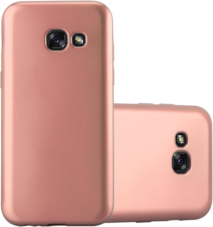 Cadorabo Hülle Für Samsung Galaxy A3 2017 In Metallic Elektronik