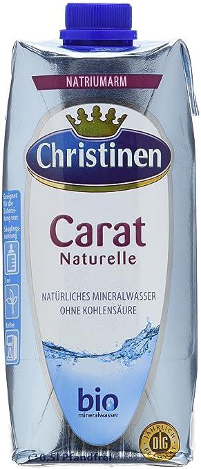 Christinen Carat Mineralwasser, 24er Pack (24 x 500 ml): Amazon.de ...