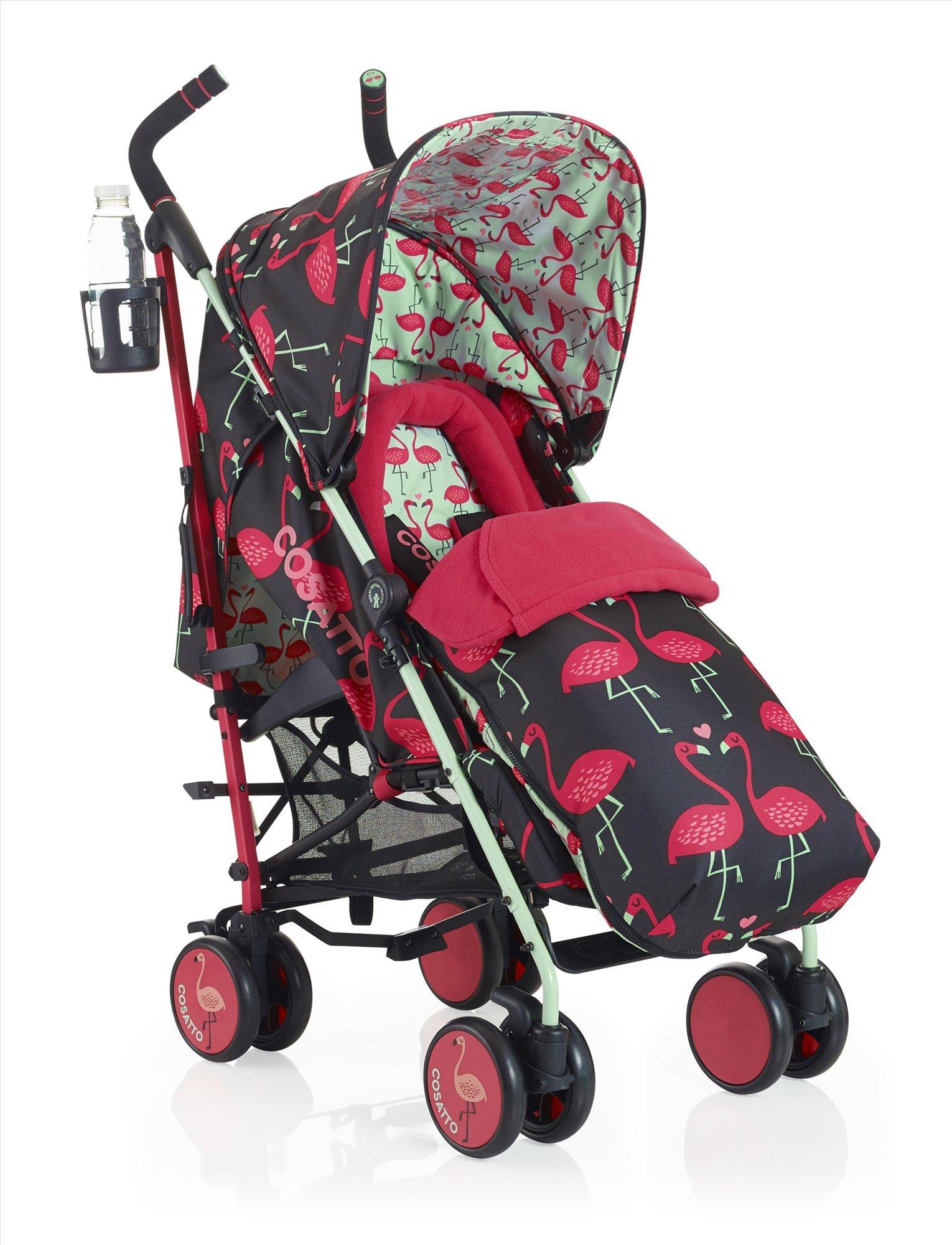 Cosatto Supa Stroller, Flamingo Fling