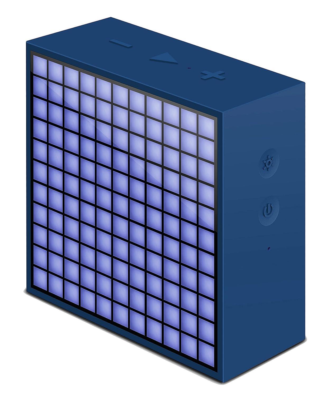 Reloj despertador Divoom timebox-mini _ BL Bluetooth para iOS / Android Blue