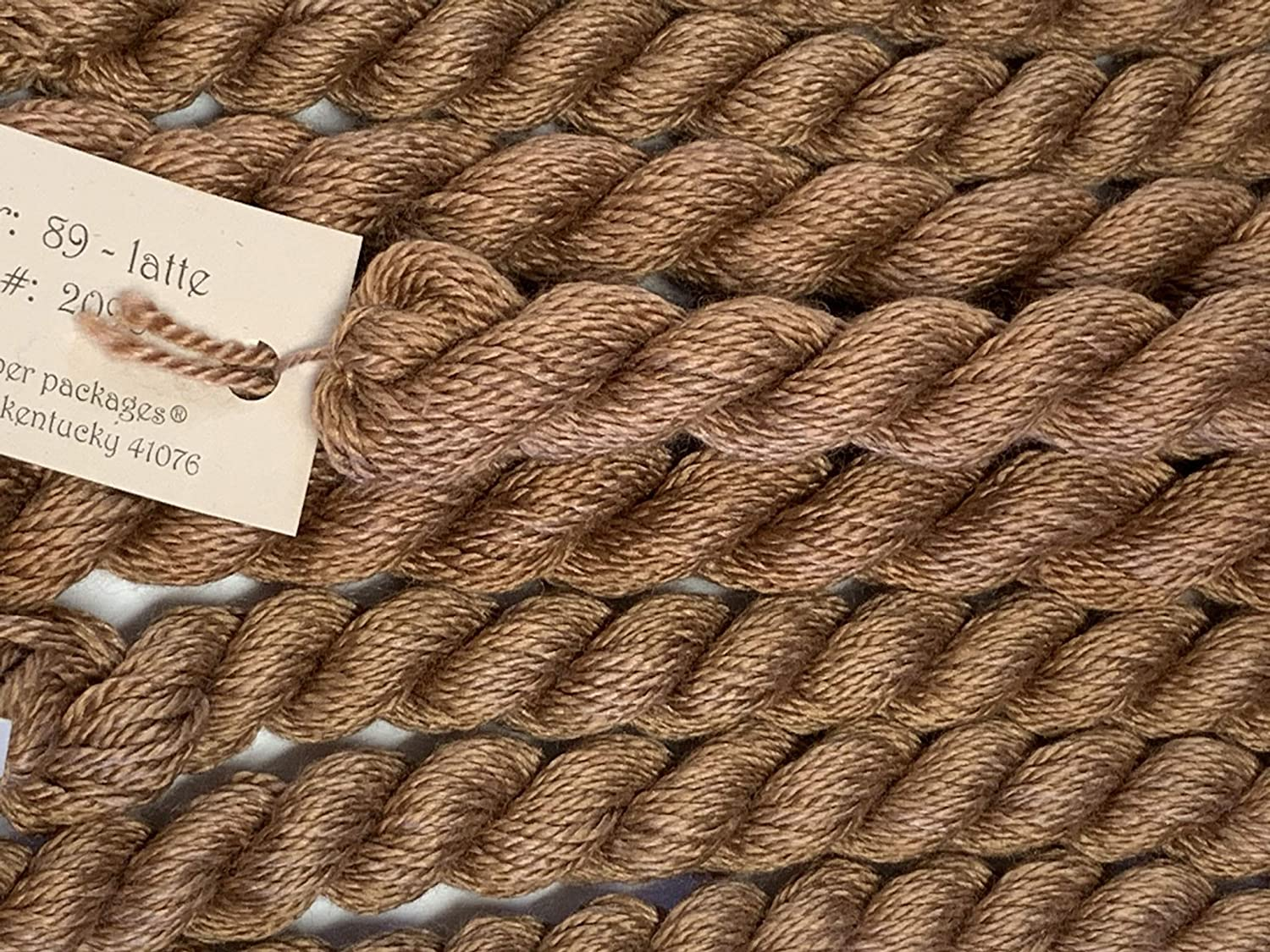 LATTE-89-1 SKEINS with This Listing SILK /& IVORY