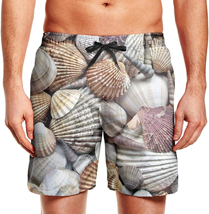 Whale Constellations Animal Mens Swim Trunks Quick Dry Bathing Suit Beach Board Shorts with Mesh Lining