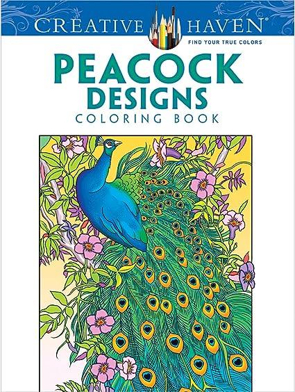- Amazon.com: Dover DOV-9963 Creative Haven Peacock Designs Publications  Coloring Book: Arts, Crafts & Sewing