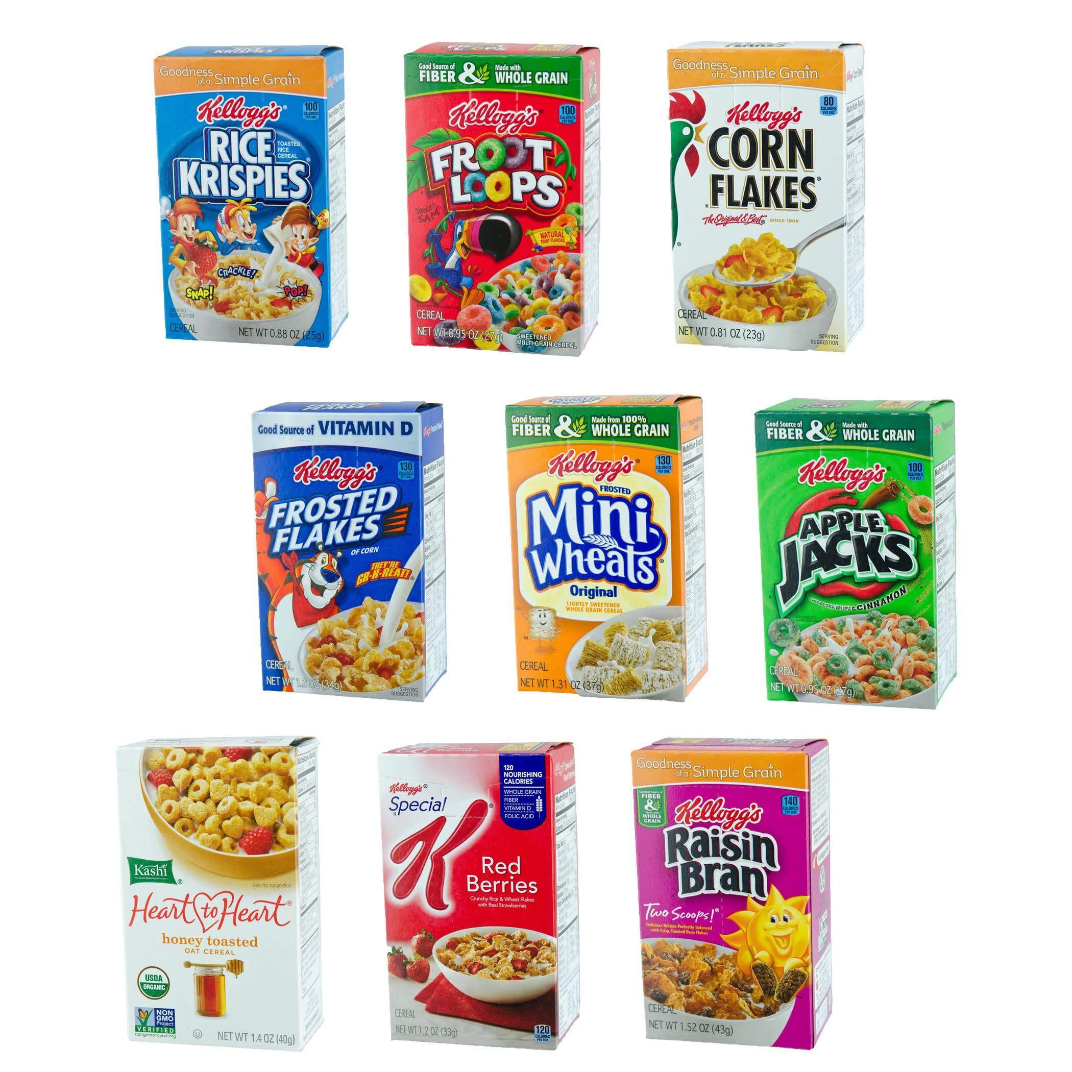 Amazon.com: Kellogg's Breakfast Cereal, Low Fat Granola