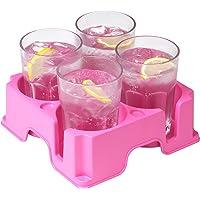 Muggi Four Mug & Cup Holder - World's Safest Drinks Tray (Choose Colour)