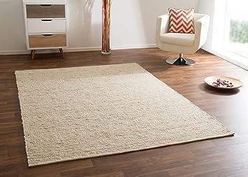 Wohnzimmer Nordischer Stil ~ Amazon.de: teppich skandinavischer stil 100% schurwolle für