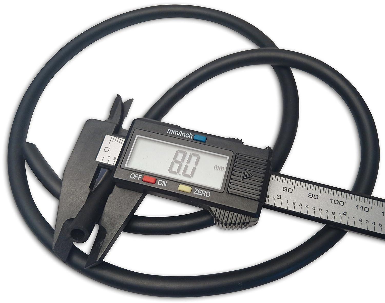 Motorcycle fuel line carburetor vent tubing 5mm 3//16 ID 8mm 5//16 OD 1 Metre