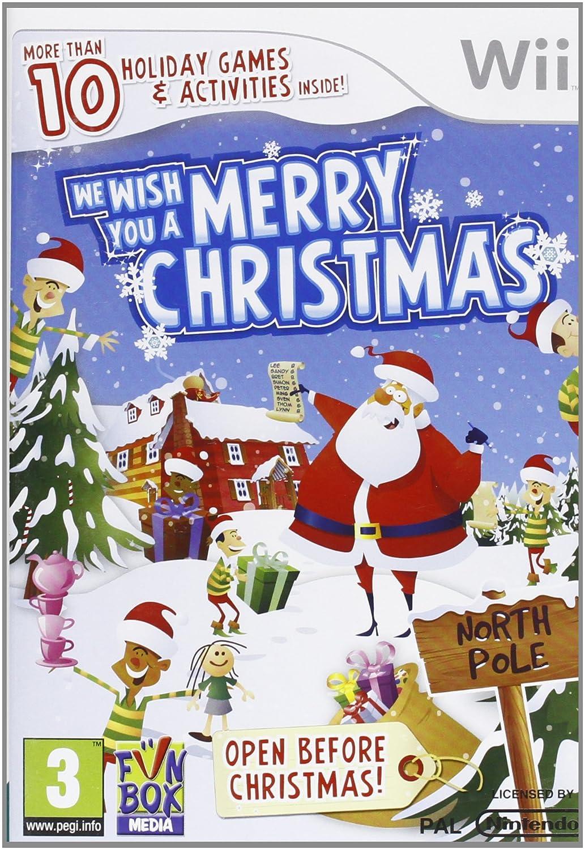Wishing You A Merry Christmas.We Wish You A Merry Christmas Wii Amazon Co Uk Pc