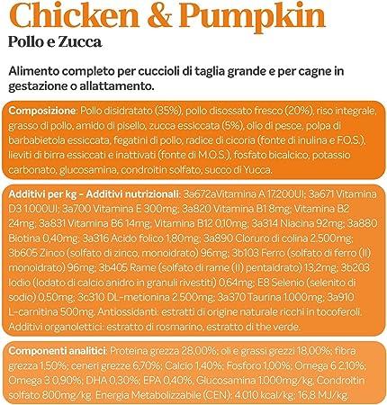 Alleva Natural Puppy Chicken & Pumpkin Maxi kg 2