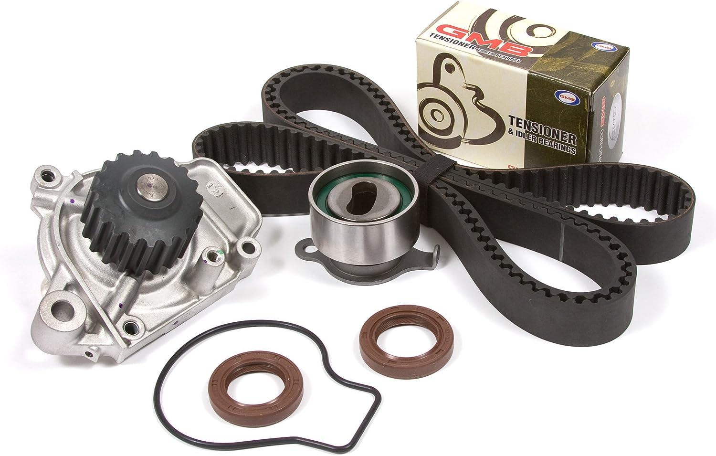 ECCPP Replacement fit for 88-95 Honda Del Sol Civic CRX 1.5L SOHC Timing Belt Water Pump Kit D15B2 D15B7