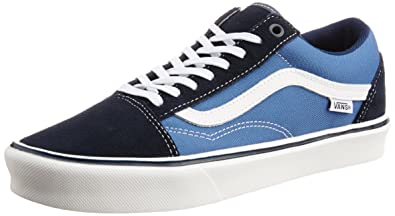 33e4e76aa26c Image Unavailable. Image not available for. Colour  Vans Men s Old Skool  Lite Navy ...