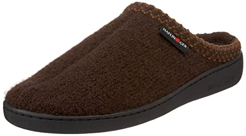 Haflinger Uniat Hardsole Slipperchocolate Eu Us Womens
