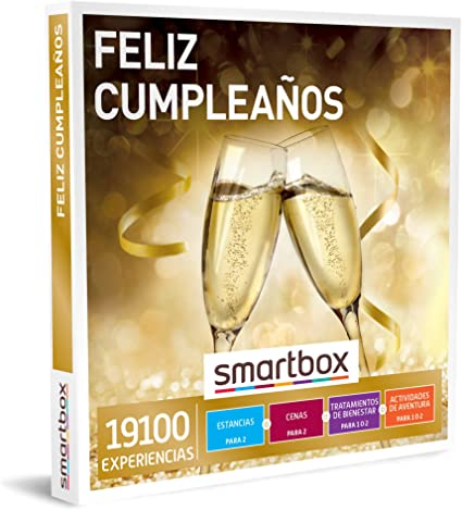 SMARTBOX - Caja Regalo - Feliz cumpleaños - Idea de Regalo - 1 ...