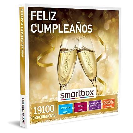 SMARTBOX - Caja Regalo hombre mujer pareja idea de regalo - Feliz cumpleaños - 19100 experiencias como escapadas, cenas, masajes o actividades de ...