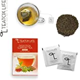 Skinny Detox Slimming Digestive Cleanse Herbal Tea 28/14 Day - Mild Laxative Diet Tea with Senna| Reduce Bloating, Weight Loss Flat Cleanse and Clear Skin - 25 Herbal Tea Bags | Made in India