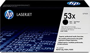 HP 53X | Q7553X | Toner Cartridge | Black | High Yield