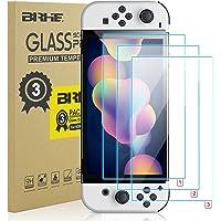 [3 sztuki] BRHE 0,25 mm Ultra cienka folia ochronna ze szkła hartowanego do przełącznika OLED - przezroczysta HD…