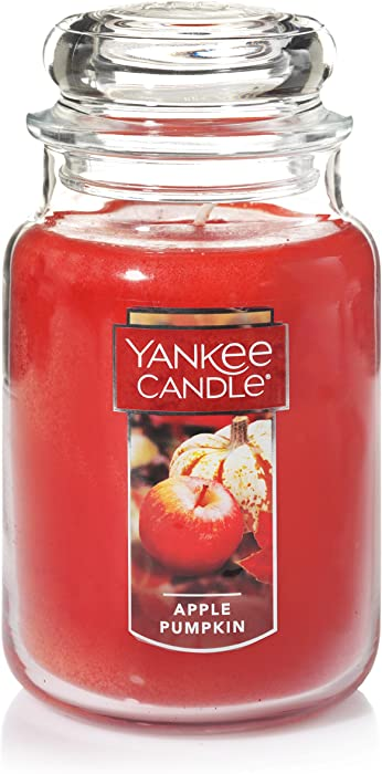Yankee Candle Large Jar Candle, Apple Pumpkin