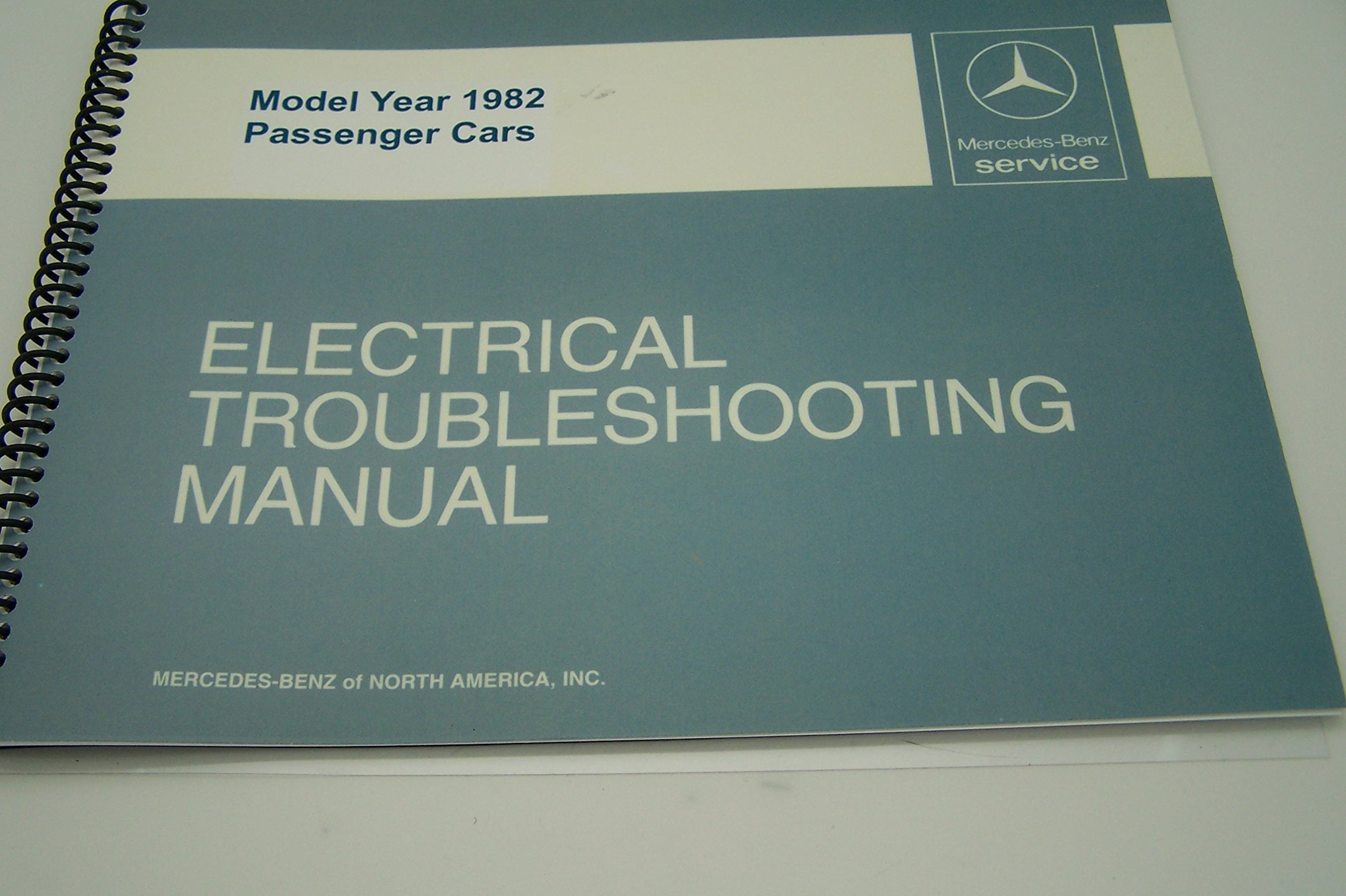 1982 Mercedes Electrical Service Manual 300d 300cd 300td turbo W123: 0617215835749: Amazon.com: Books