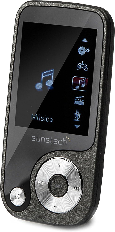 Sunstech THORN8GBTN - Reproductor MP4 de 8 GB (pantalla de 1.8 ...