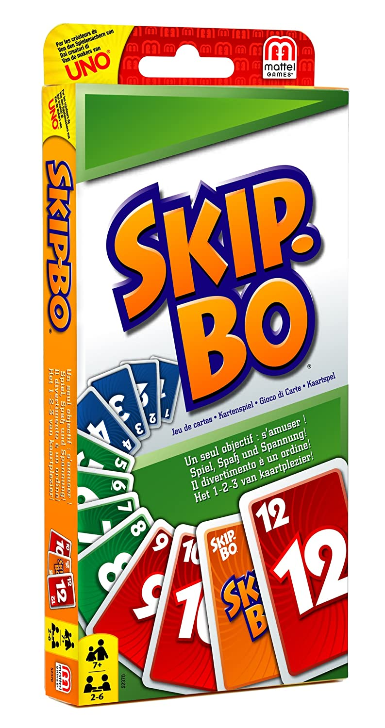 Games 52370 - Skipbo Gioco di Carte: Amazon.it: Giochi e giocattoli