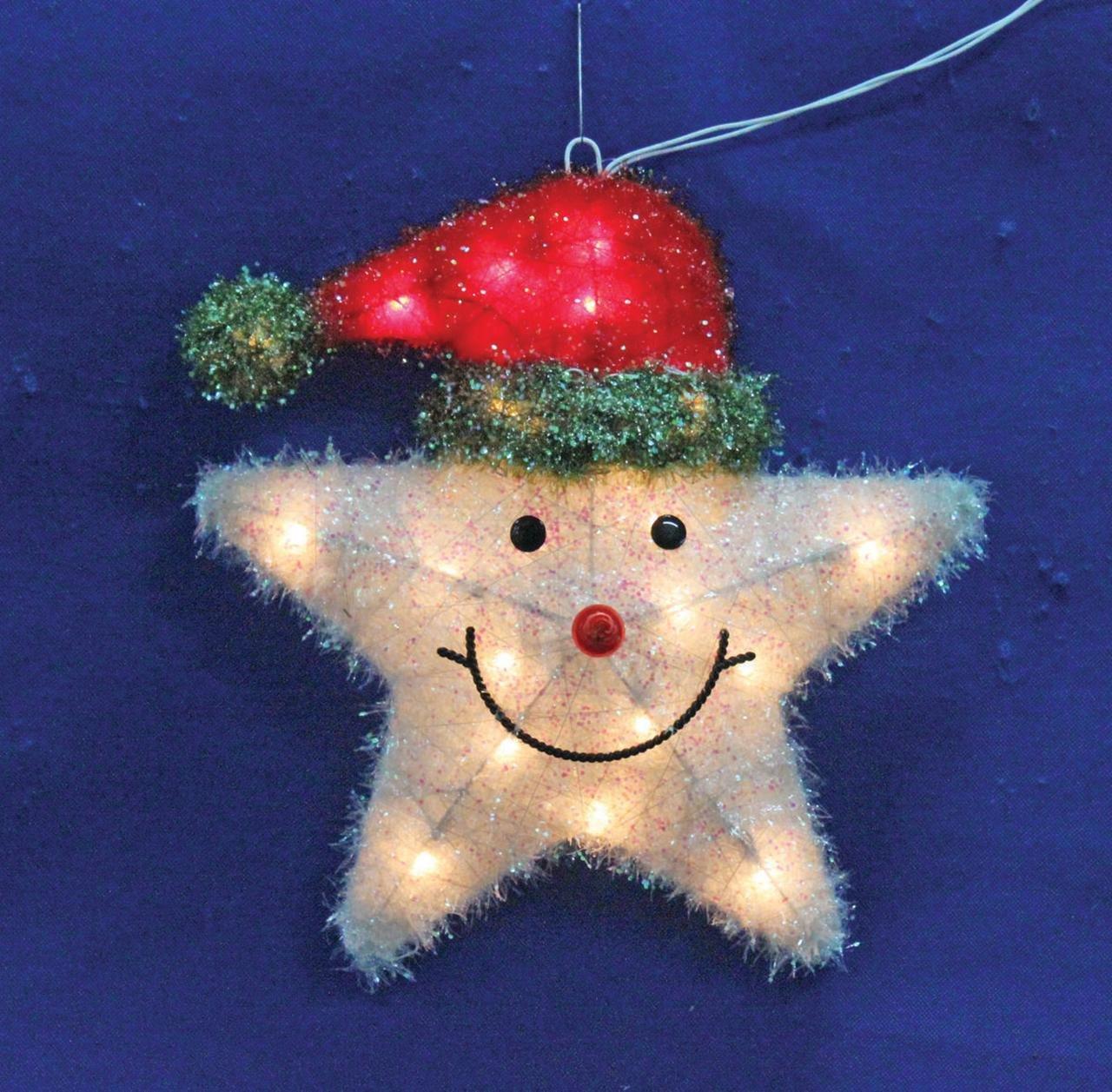 Holiday Basix W12A0087 20-Light Star Window Light, 16-Inch