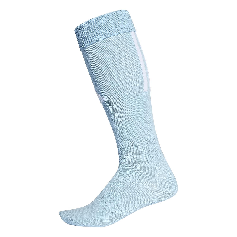 adidas Santos 18 Soccer Socks, Clear Blue/White, XXS CV8106