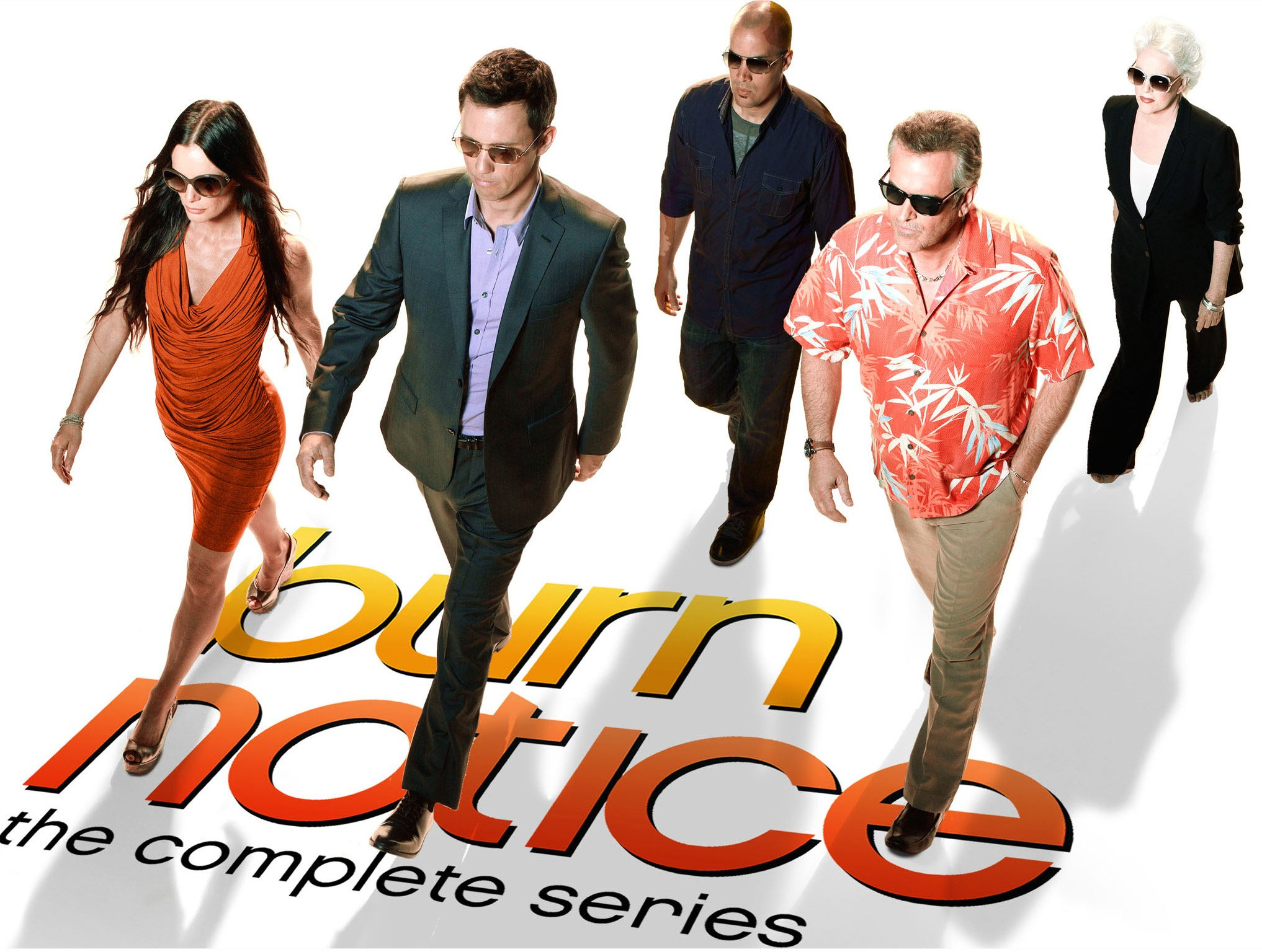 DVD : Burn Notice: The Complete Series (Boxed Set, Gift Set, AC-3, Dolby, Widescreen)