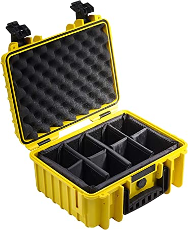 B W International 3000 Y Rpd 3000 Outdoor Case With Rpd Insert Durable Type 3000 Yellow Camera Photo