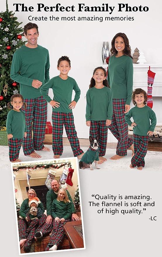 Amazon.com  PajamaGram Family Christmas Pajamas Flannel - Christmas PJs  Matching 6e13caf91