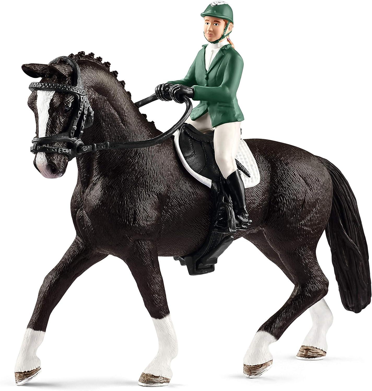 Schleich-42358 Figura, Negro, Verde, Color Blanco (42358)