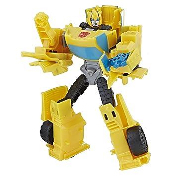 Action Shot Bumblebee Transformers Class Sting Warrior Cyberverse shrdtQ