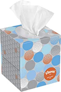 Kleenex Professional Facial Tissue Cube for Business (21286), White, 3 Boxes / Bundle
