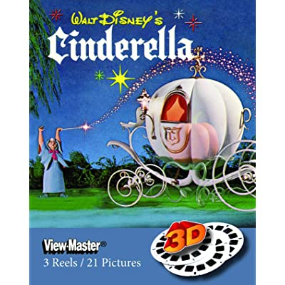 ViewMaster Disney's Cinderella Classic Clay Figure Art - 3Reels, 21 3D images: Toys & Games