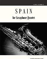 Spain For Saxophone Quartet (English