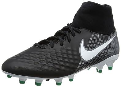 Nike Herren Magista Onda II DF FG Fußballschuhe, Schwarz (Black/White-Dark