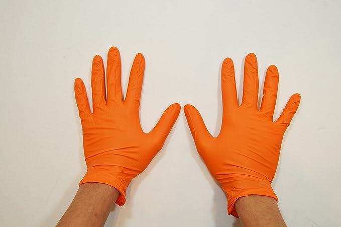 ORANGE Mamba Gloves EXTRA Large 100 Pack