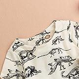 Mini honey Infant Toddle Baby Girls Cotton Dinosaur