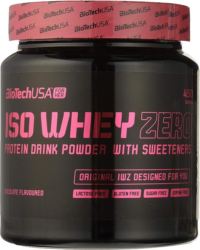 Biotech Isowhey Zero Lactose Free Proteínas Galletas & Crema - 450 gr