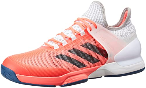 wholesale dealer f95d9 87ff8 adidas Adizero Ubersonic 2 Tennis - Trainers for Men, 47 13, Red