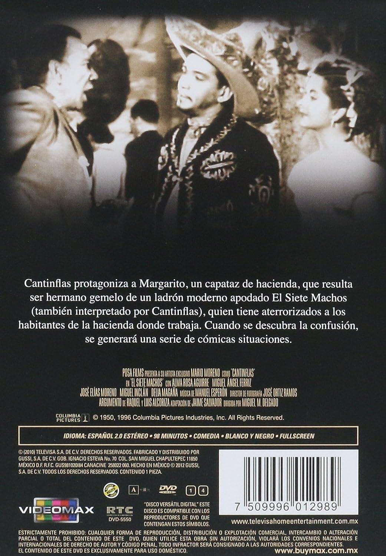 Amazon.com: Por Siempre Cantinflas El Siete Machos: Mario Moreno, Miguel M. Delgado: Movies & TV