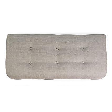 Amazon.com : Light Gray Outdoor Porch Swing Cushion 42 x 19 ...