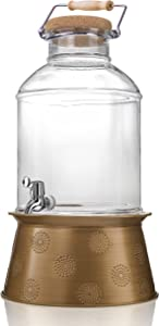 Artland Corona Beverage Dispenser, 3 Gallon, Clear