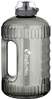 BuildLife Botella de Agua Deportiva con Marcas de Tiempo, Ideal ...