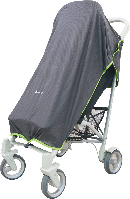 Koo-di Pack It Stroller Raincover Shade Pushchair Pram Cover SunRays Screen