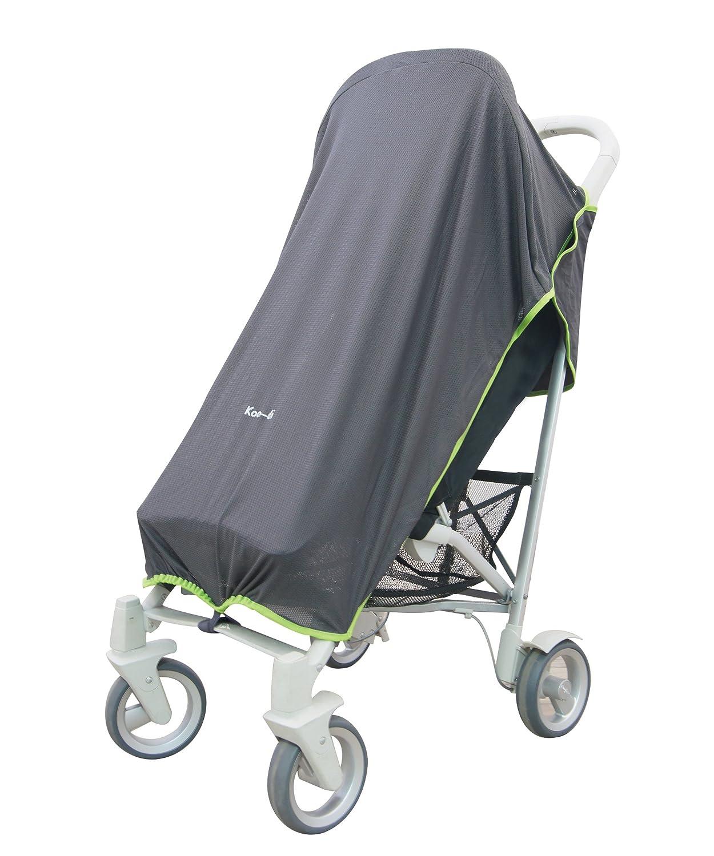 Koo-DI - Parasole/telo per passeggino, colore: Grigio Weybury Hildreth Ltd KD063/02