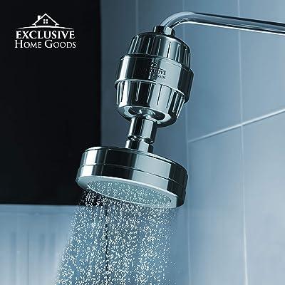 High Pressure Saving water Premium Showerhead Soften water 8 stage filtering